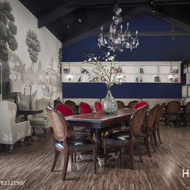 私人咖啡馆会所设计_3154765