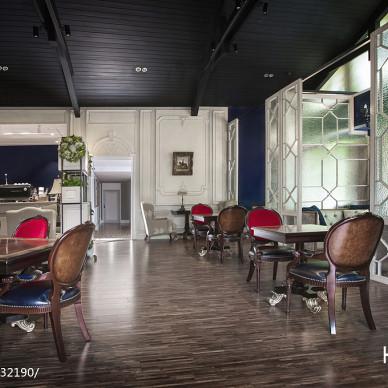 私人咖啡馆会所设计_3154770