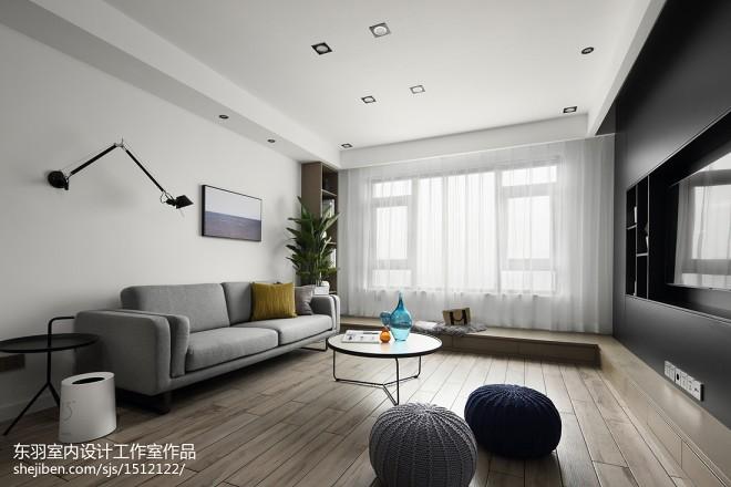 120平方现代客厅设计图片