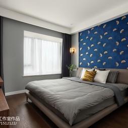 120平方现代卧室设计实景图
