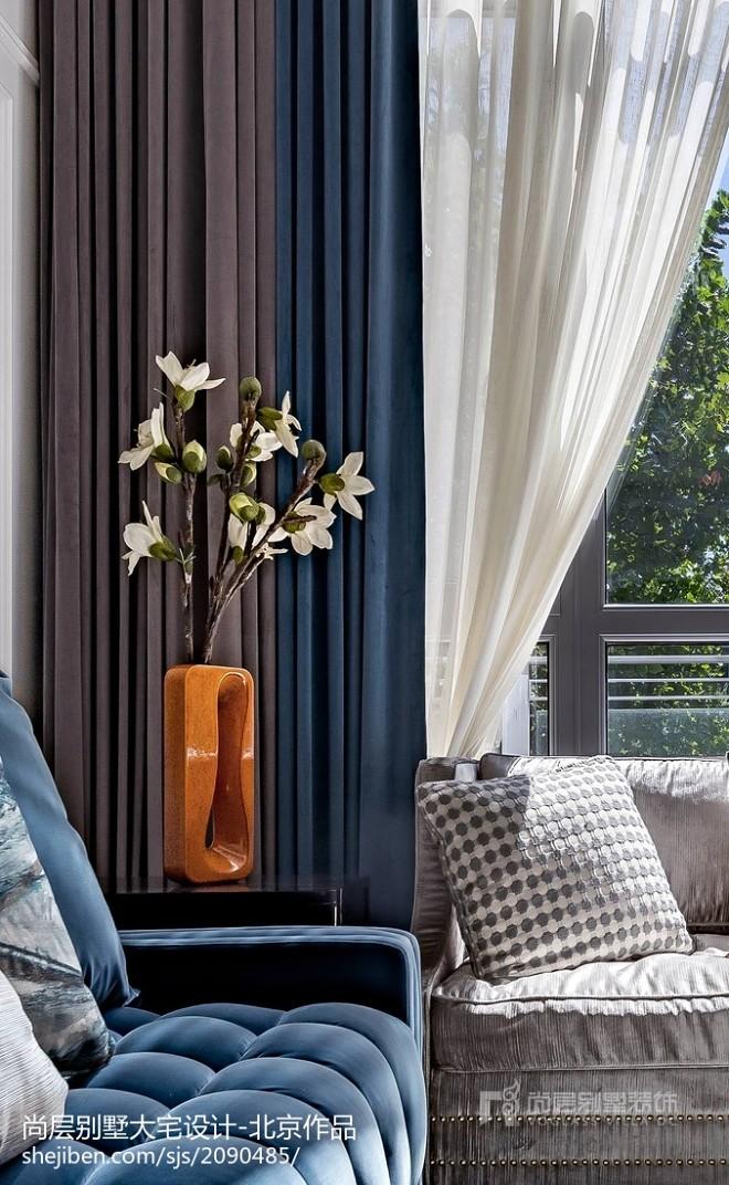 西山庭院别墅装修设计美式风格_315
