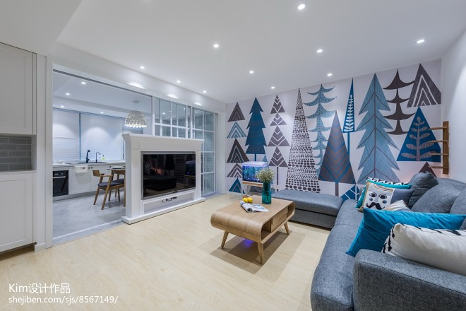Green Forest现代客厅设计