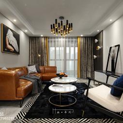 新古典四居客厅设计图