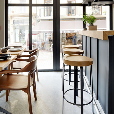 kinca咖啡厅吧台设计图