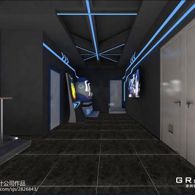 游戏vr展厅设计