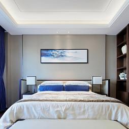 独栋别墅样板房卧室设计图片