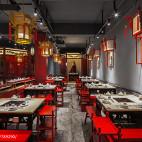红鼎坊火锅桌椅设计图片