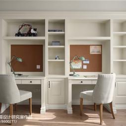 美式别墅儿童房设计实景图