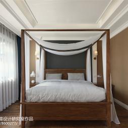 美式别墅主卧设计图片