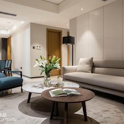 温馨现代客厅设计图片