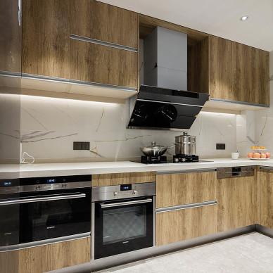 温馨现代厨房设计图片