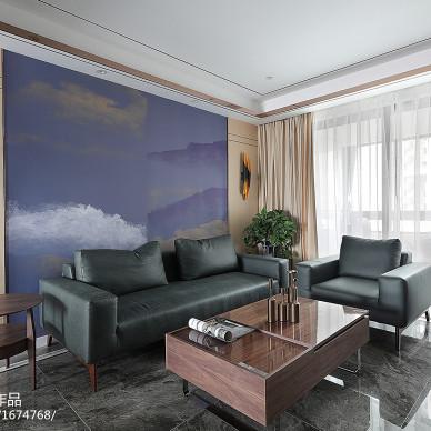 混搭四居客厅设计实景图片