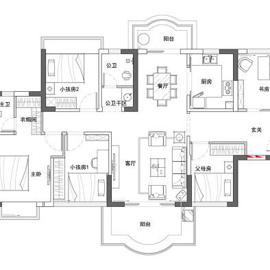 华轩居三期D3栋黄宅设计