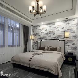 精品酒店新中式房间设计图