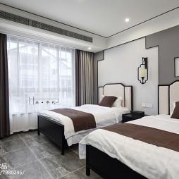 精品酒店双人房设计图