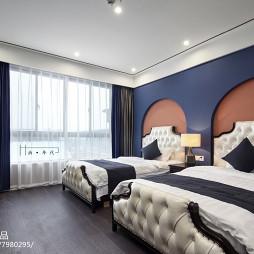 精品酒店美式房间设计图片