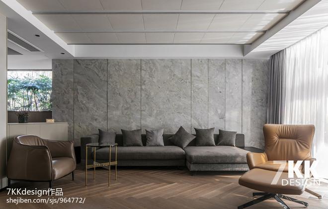 现代明亮客厅设计图片