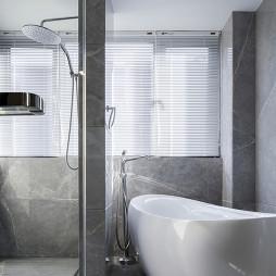 现代椭圆浴缸设计图