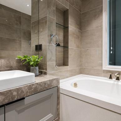 混搭三居卫浴设计图片