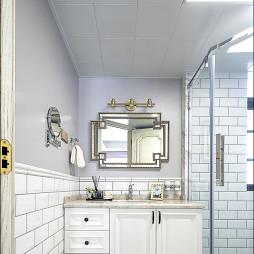 现代式优雅卫浴设计图