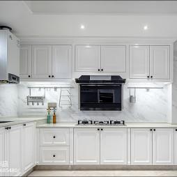 现代式优雅厨房设计图