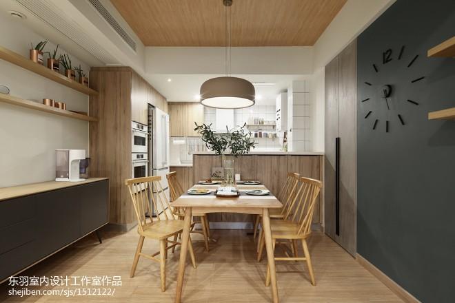 日式三居餐厅设计图片