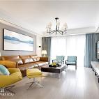 现代高级灰客厅设计图片