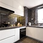 现代高级灰厨房实景照片