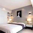 现代高级灰卧室设计