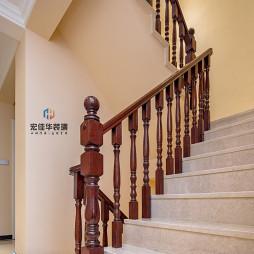 欧美混搭楼梯设计图
