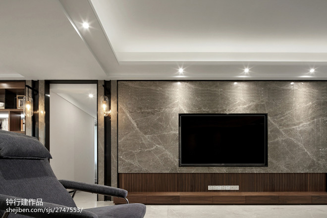 大理石背景墙设计图