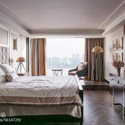 现代复式主卧室设计图