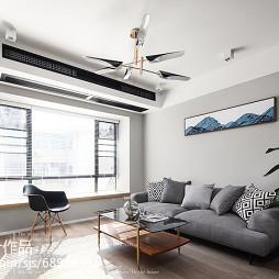 三居客厅吊灯设计图