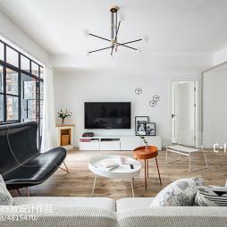 现代简洁客厅设计图