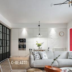 现代简洁客厅吊灯设计图