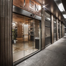 麻绳工作室走廊入口设计图