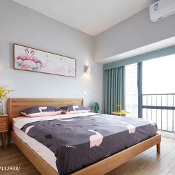88㎡四房暖居卧室设计图