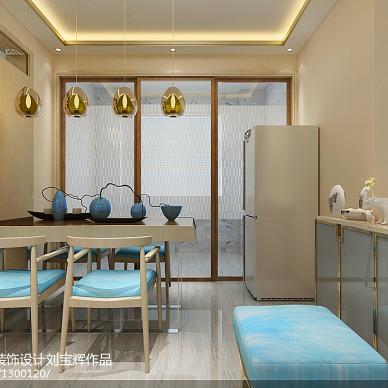 威海新世纪家园99平二手房改造  现代简约风_3187112