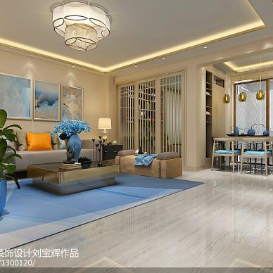 威海新世纪家园99平二手房改造  现代简约风_3187115