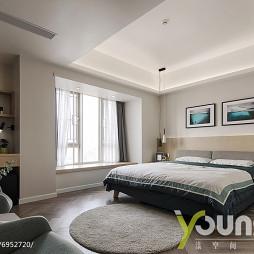 现代主卧室设计实景图