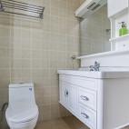 220平欧式极简卫浴设计图