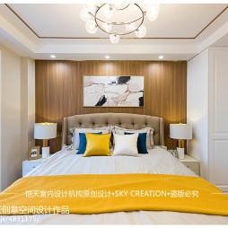 现代二居主卧室设计图片