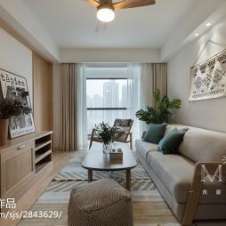 220m² 日系和风小客厅设计图