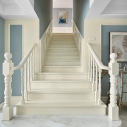 法式混搭楼梯设计