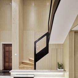现代三居楼梯设计图