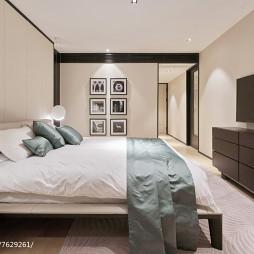 现代豪华主卧室实景图片