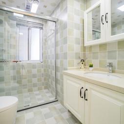美式二居卫浴设计