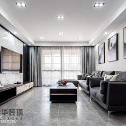 130㎡现代客厅设计图片