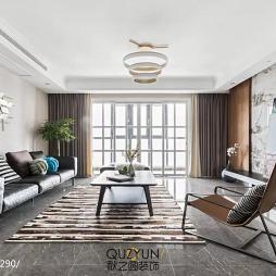 260㎡现代客厅设计图