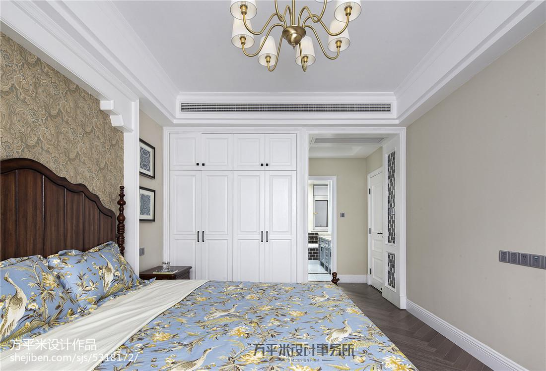 儿童衣柜效果图_美式卧室嵌入式衣柜设计图 – 设计本装修效果图